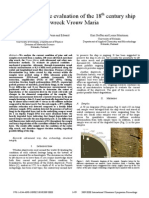 Non-destructive evaluation of the 18th century ship wreck Vrouw Maria