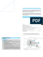 Instruction manual Seiko 7T82 chrono movement