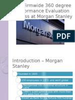 Morgan Stanley 360 Degree Performance Review
