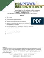 SOBO Meeting February 4, 2015 Agenda Packet