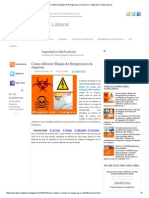 Como elaborar Mapas de Riesgos para la empresa ~ Seguridad y Salud Laboral