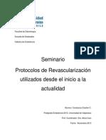 DocSeminarioProtocolosDeRevascularizacionUtilizadosDesdeElInicioALaActualidad