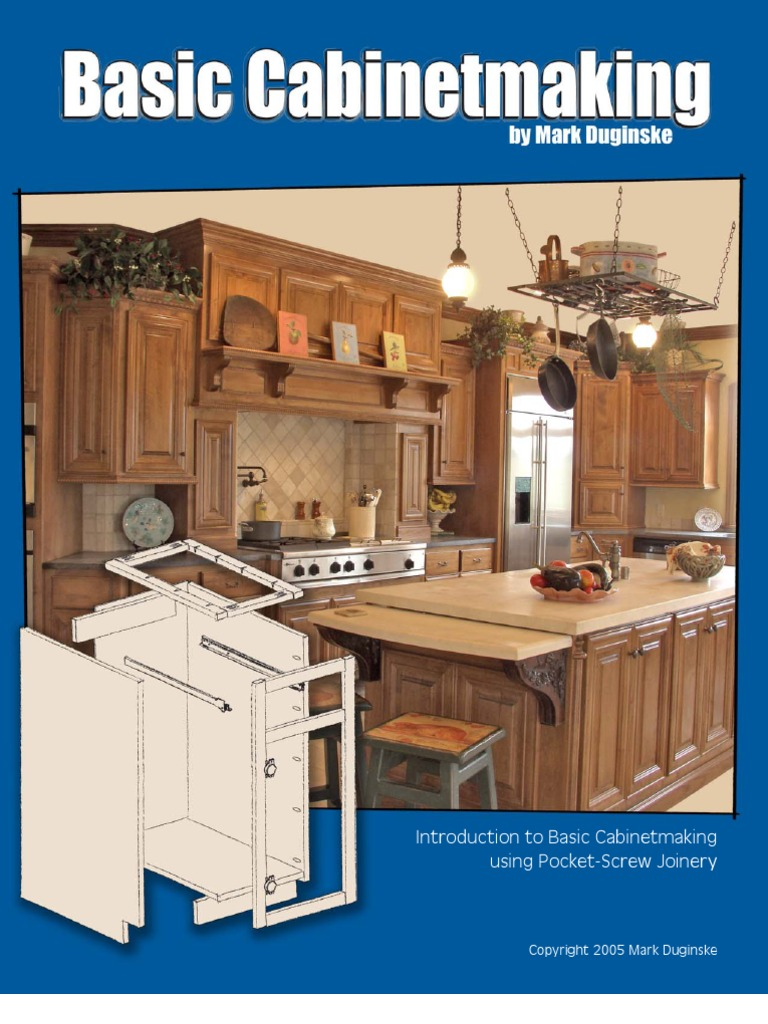 & Cabinetmaking Booklet | Cabinetry | Countertop