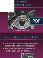Karl Marx - Division of Labor and Alienation
