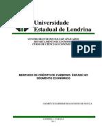 André Guilherme Bolognesi de Souza_Mercado de Crédito de Carbono_31!10!2011