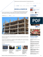Accidente Laboral Provoca La Muerte de Tres Personas _ ANF - Agencia de Noticias Fides