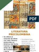 Literatura Pre-colombina