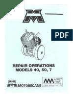 Motobecane Repair Manual