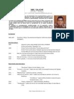 Curriculum Abel Salazar 2010
