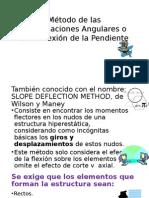 Metodo de Las Deforamciones Angulares
