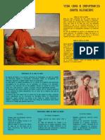 Vida obra e importancia de Dante Alighieri