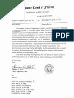 Ahlers Supreme Court Transfer Order