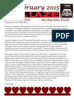 Beacon Hose February 2015 Newsletter