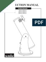 Skywatcher Dobsonian User Manual