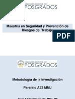 Pre Metodología Investigación UTE SEG a 23 MMJ Dr. Jorge Albán v. Enero-Febrero 2015_1