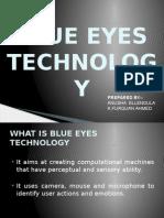 BlueEyes Tech PPT