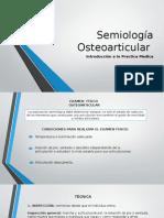 Semiología Osteoarticular