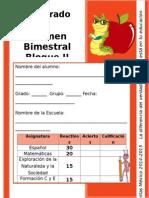 Examen 1er Grado - Bloque 2 (2014-2015)