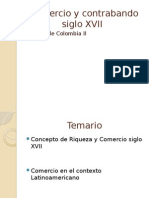 Comercio y Contrabando Siglo XVII - Exposicion