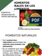 Clase1-Pigmentos Naturales en Los Alimentos