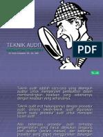 Teknik Audit
