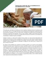 Homilía Del Papa Francisco en La Misa Del Gallo Celebrada en La Nochebuena en El Vaticano