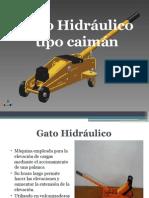 Gato Hidráulico Tipo Caimán