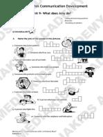 MK ECD Mathayom 1 Handbook -Sem 2