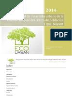 Plan Parcial de Desarrollo Urbano de la Colonia San José