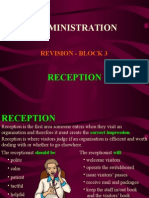 Admin Rev 3 Reception.ppt