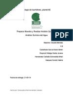 Analisis Del Agua (Reporte)