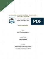 proyecto DIDACTICA DE MATEMATICAS AbySilvia1.docx