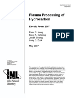 Plasma Processing of Hydrocarbon