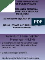 KLSR Dan Kurikulum Sejarah