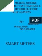 Smartmeters,OMS&PHEV