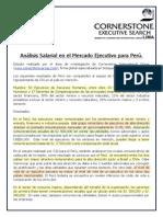 COM Cornerstone 13 Analisis Salarial Ejecutivo Peru