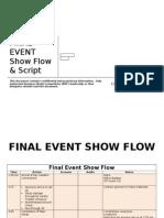 Sample Finasal Event Show Flow Script