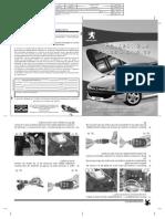 Manual Do Sistema Fechamento Aut Vidro Peugeot 206