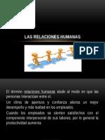 Cap 8.-Las Relaciones Humanas