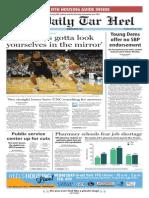 The Daily Tar Heel for Feb. 3, 2015