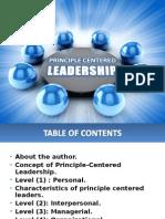 principlecenteredleadership-120621040522-phpapp02