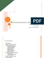 Software Design Techniques
