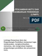 Lembaga Penjaminan Mutu Dan Pengembangan Pendidikan