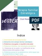 Terapia Familiar Estratégica. Clóe Madaness.