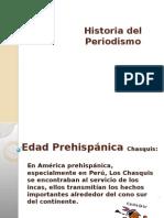 Historia periodismo