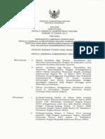 Salinan Perkalan No.22 Tahun 2014 Ttd Diklatpim IV