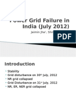 Power Grid Failure in India