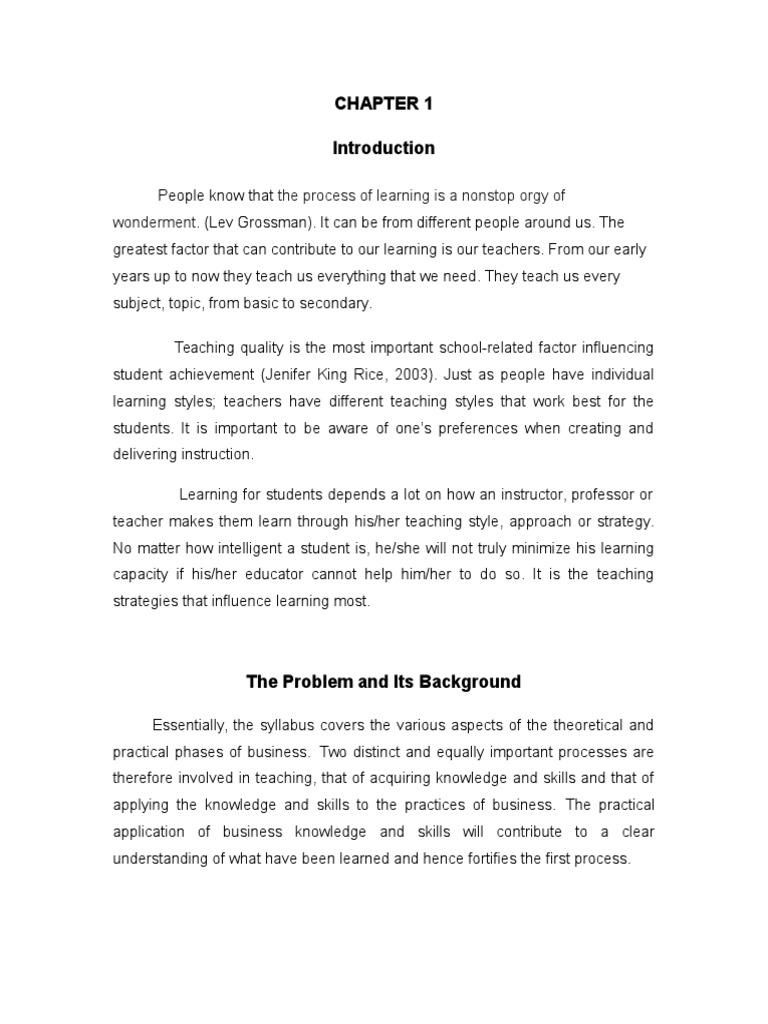 research paper for bshrm students