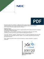 Nec Xn120 Cti Guide