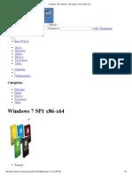 Windows 7 SP1 x86-x64 - Descargar Torrent TodoCVCD